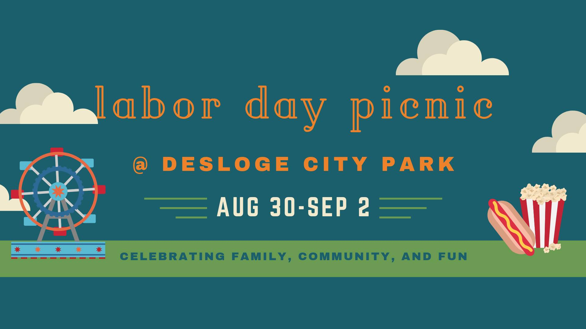The Desloge Labor Day Picnic Wrist Bands