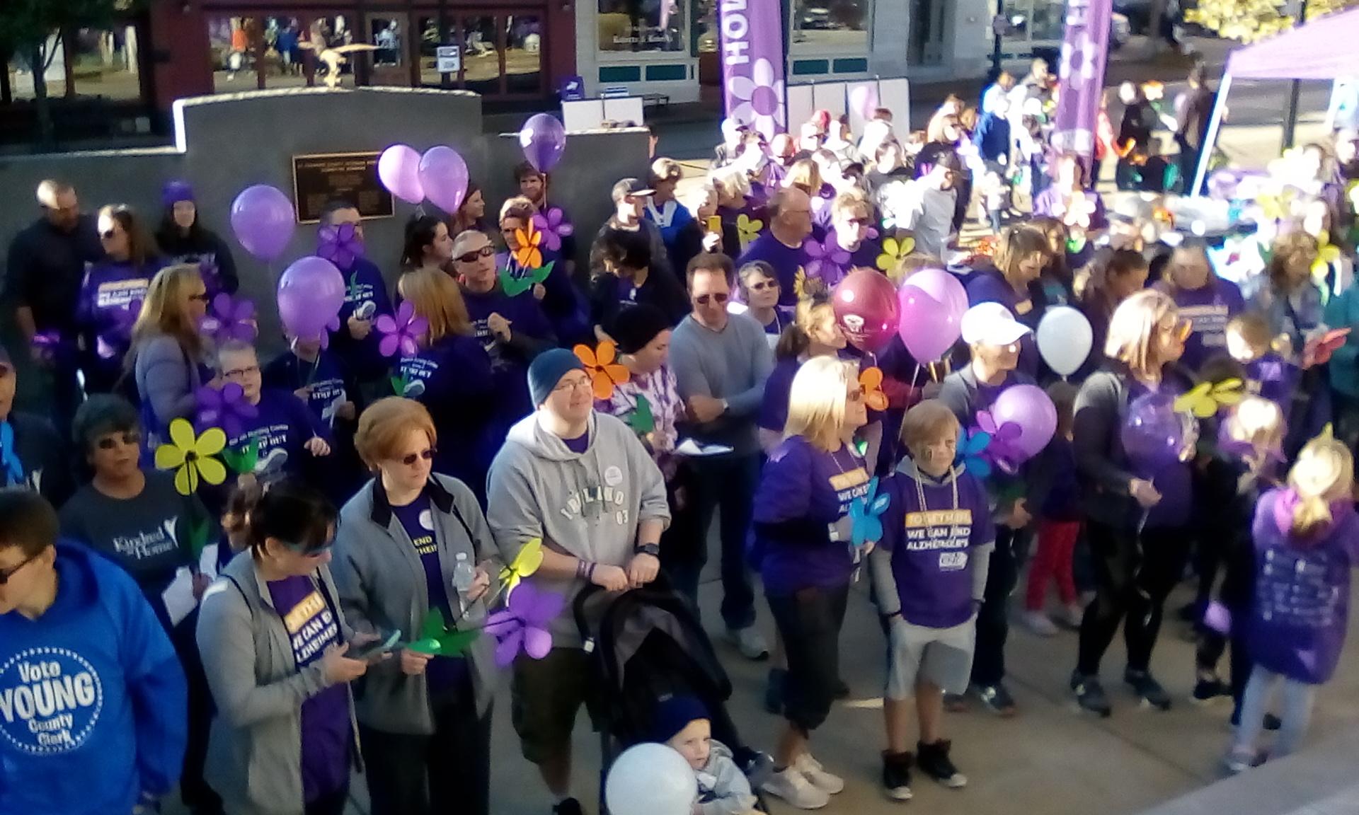 Alzheimer's Walk Awareness Event