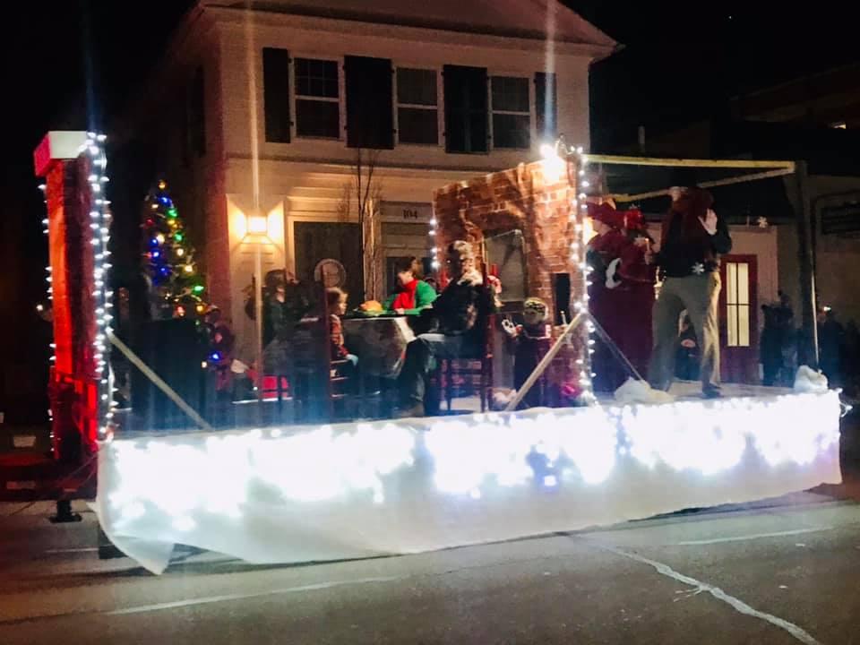 Krekeler Jewelers Christmas Parade Winners