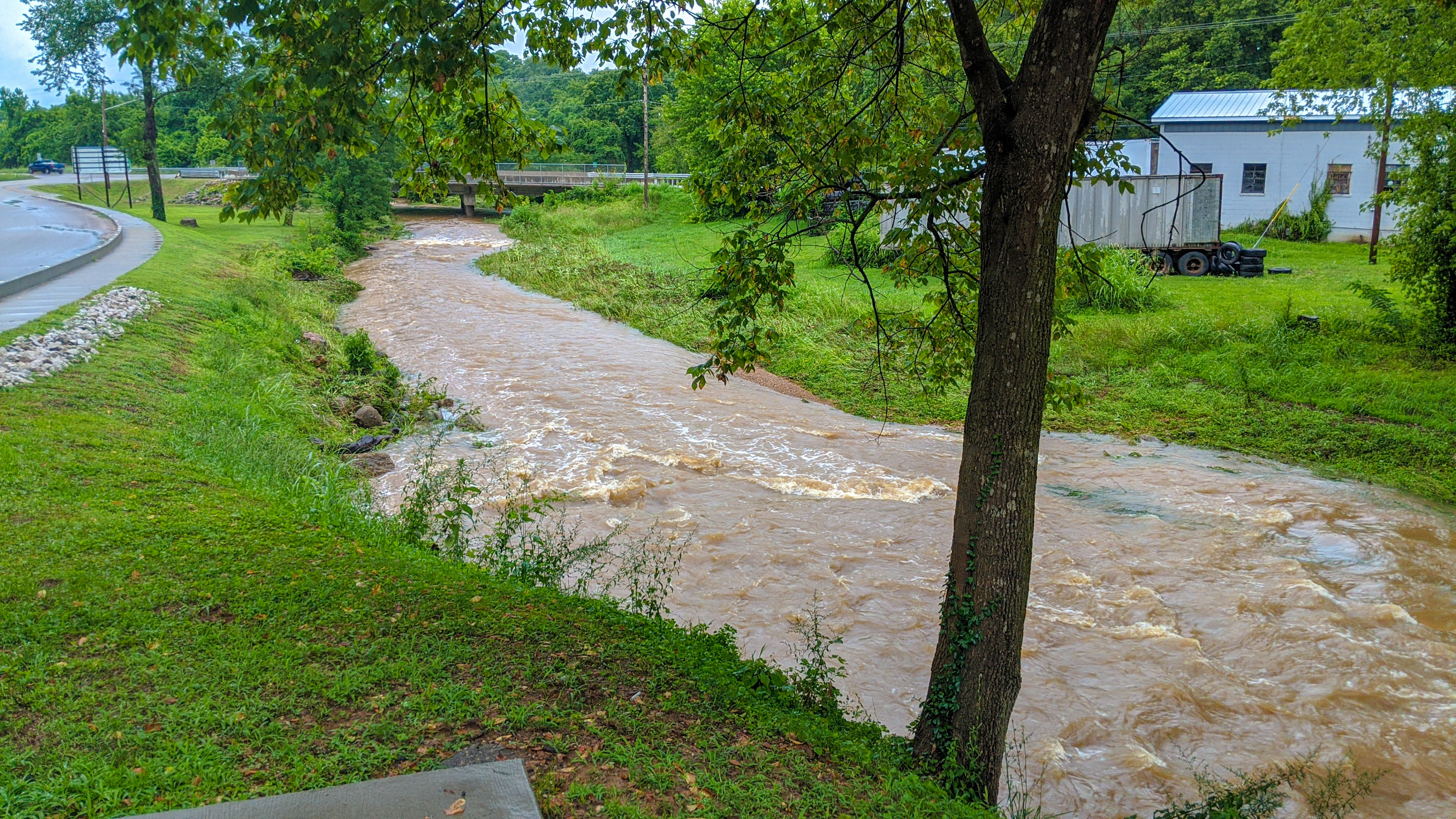 Flash Flooding Hits Potosi