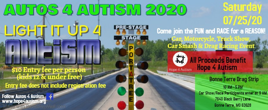 Autos for Autism Light it up For Autism Event
