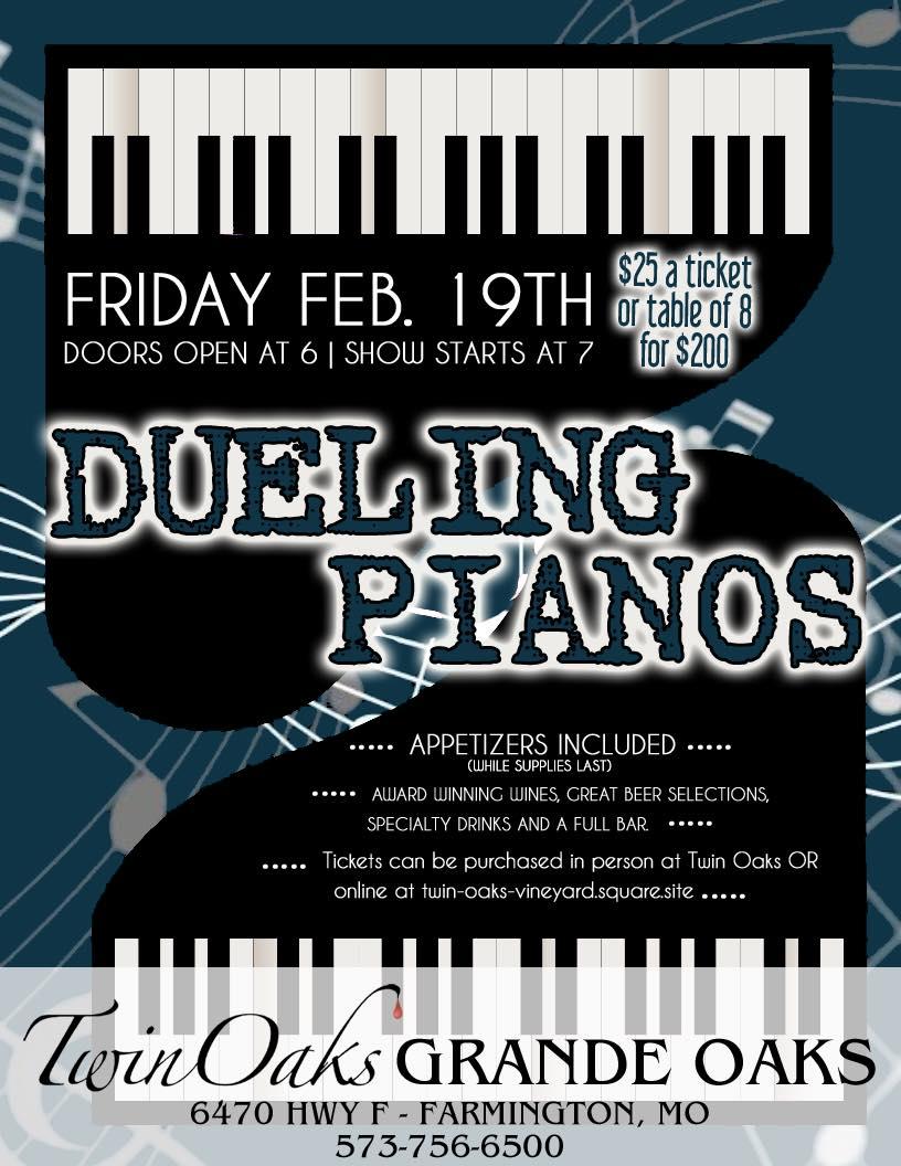 Twin Oaks Final Piano Duel