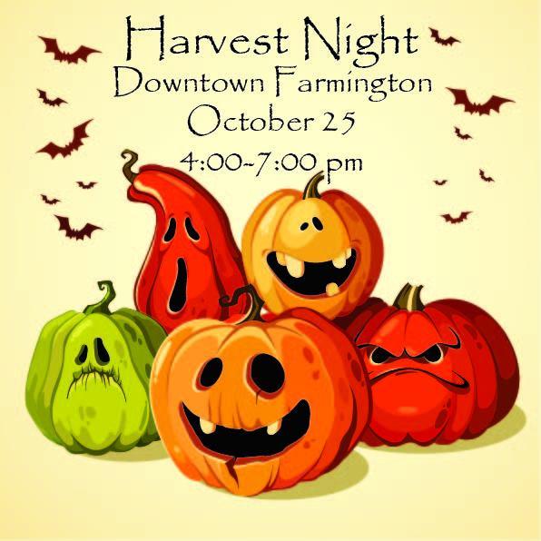 Harvest Night Tonight in Farmington