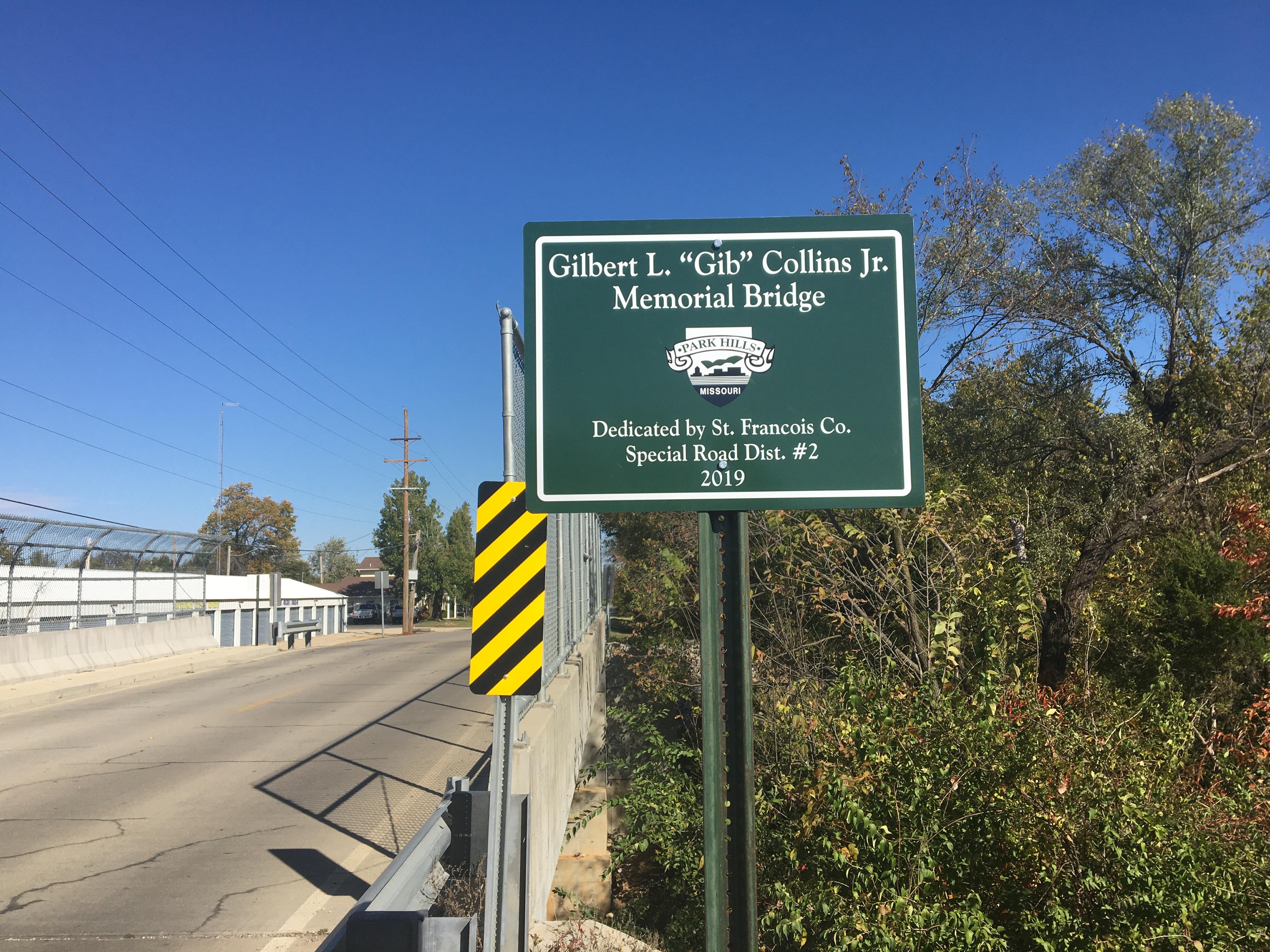 Two Park Hills Bridges Dedicated
