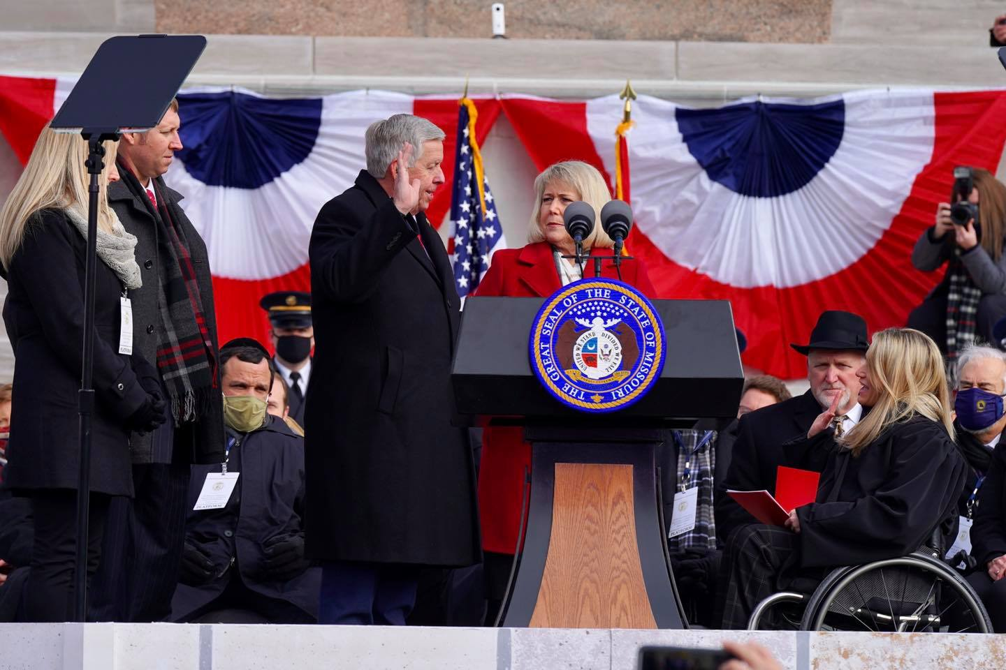 Governor Parson Inaugurated