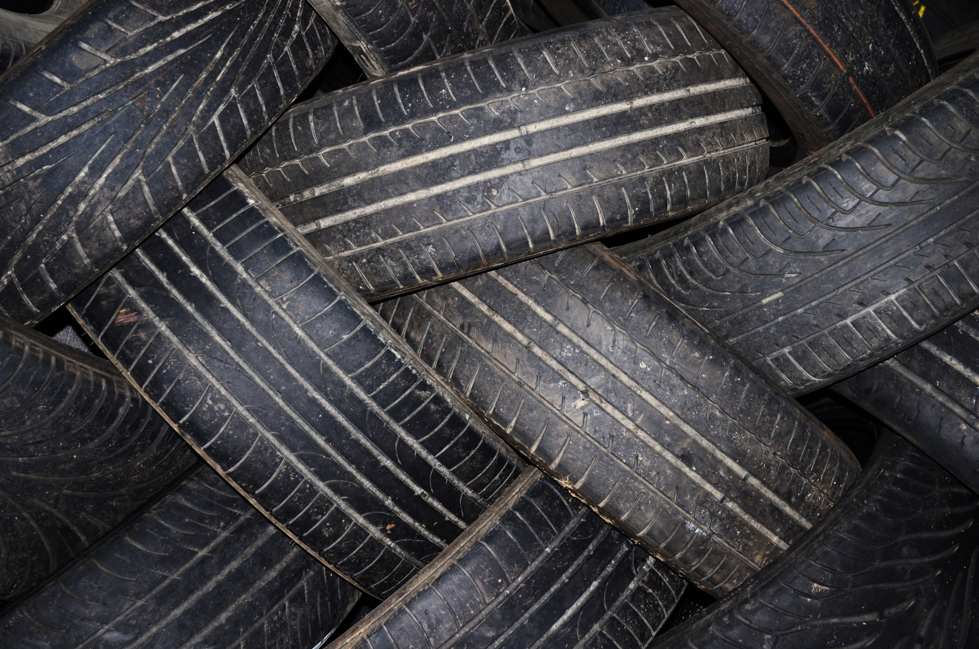 Scrap Tire Clean up in County