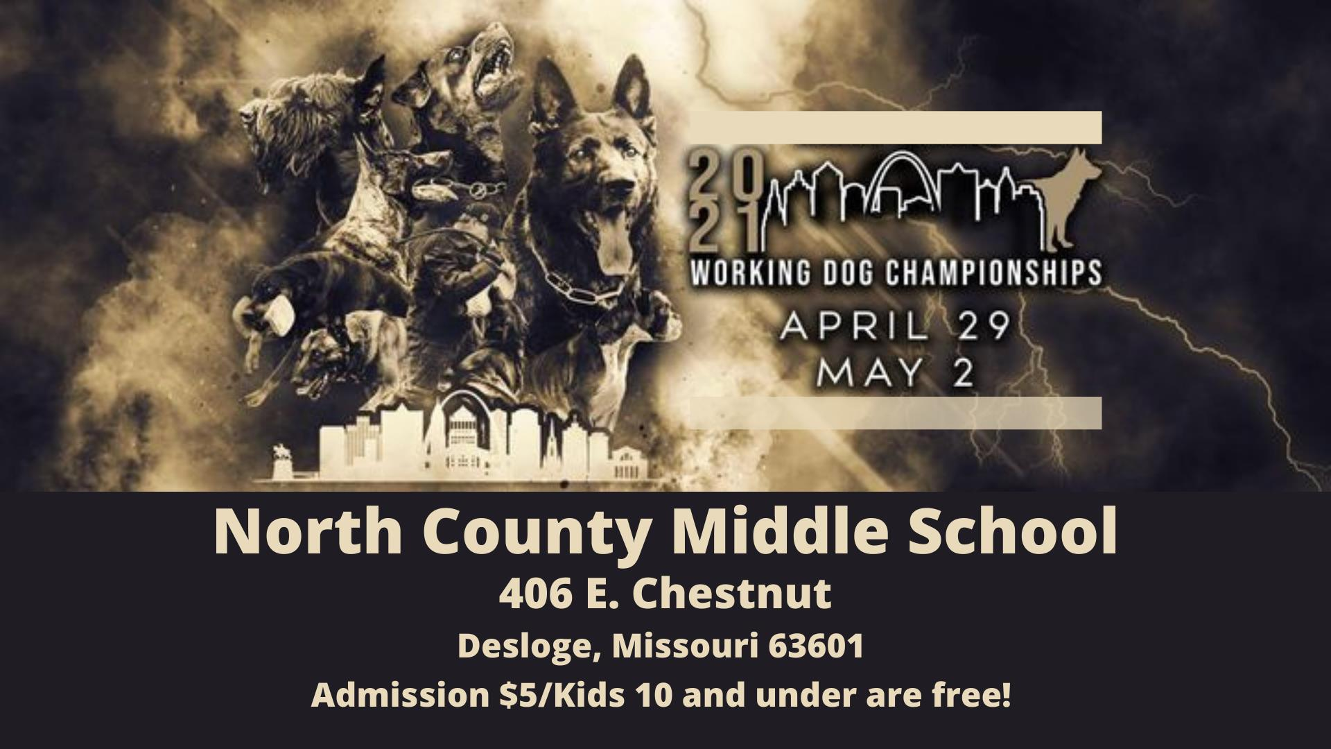 Working Dog Championships at Desloge